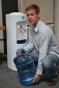 water dispenser topup