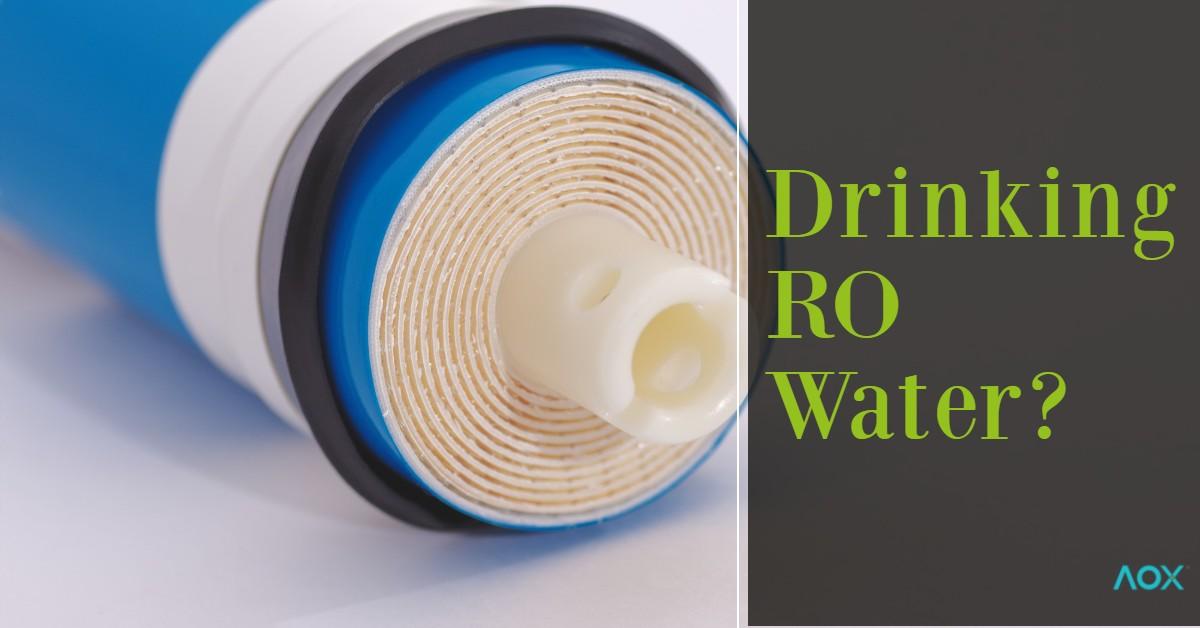 RO drinking water